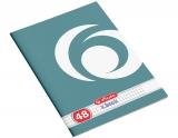 Caiet A4, 48 file, 70g/mp, matematica, Rainbow Herlitz