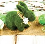 Servetele Paste Iepure Verde 33 x 33 cm, 3 straturi, 20 buc/set Herlitz