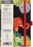 Bloc notes Ivory Graphic 9 x 14 cm 192 pag, patratele, Animal Graphic Herlitz