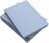 Agenda Herlitz, A5, zilnica, datata, albastru pastel, 2022