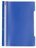 Dosar cu sina A4 PP, perforat, culoare albastru, Herlitz