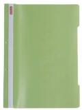 Dosar cu sina A4 PP, perforat, culoare verde pal, Herlitz