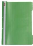 Dosar cu sina A4 PP, perforat, culoare verde, Herlitz