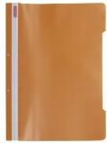 Dosar cu sina A4 PP, perforat, culoare portocaliu, Herlitz