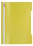 Dosar cu sina A4 PP, perforat, culoare galben, Herlitz