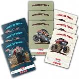 Caiet A5, 48 file, 70g/mp, dictando, colturi rotunjite, Monster Truck, 10 buc/set Herlitz