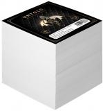 Cub notite alb, 9 x 9 cm, 700 file, Untold Herlitz