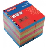 Cub notes de hartie 9 x 9 cm color 700 file Herlitz