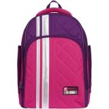 Ghiozdan neechipat Rainbow Pink & Purple Tiger