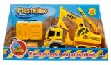Joc interactic Excavatorul de plastilina Plastelino
