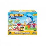 Set de plastelina mare Fabrica de inghetata Plastelino
