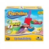 Set de plastelina mare La bucatarie Plastelino