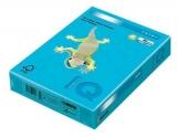 Carton IQ color intens A4 aqua blue 160 g/mp, 250 coli/top