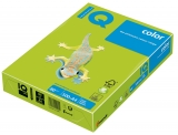 Carton IQ Color Intens Mondi A4 lime green 160g, 250 coli/top