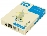 Hartie IQ Color Pastel Mondi A4 vanilla, 80 g/mp, 500 coli/top