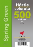 Hartie colorata A5 Spring Green 80 gr 500 coli/top EXTE