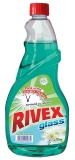 Rezerva solutie geamuri 750 ml Rivex Spring Fresh
