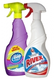Spray pentru covor Biocarpet 750ml + Antimucegai 750 ml Rivex