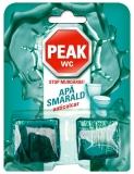 Tablete wc anticalcar Apa Smarald pin 50g 2 buc/set Peak