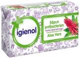 Sapun solid antibacterian Aloe Vera 90 gr Igienol