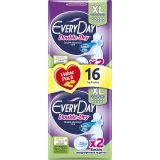 Absorbante Double Dry Extra Long 16 buc/set Everyday