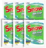 Pudra pentru indepartarea petelor White Bright, 120 g, 3 + 3 gratis Snow