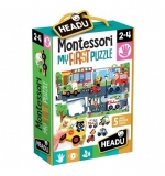 Montessori Primul Meu Puzzle - Oras Headu