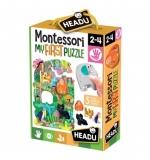Montessori Primul Meu Puzzle - Jungla Headu