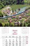 Calendare de perete 31.5 x 48 cm Romania