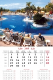 Calendare de perete 31.5 x 48 cm Holiday