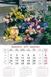 Calendare de perete 31.5 x 48 cm Bouquets
