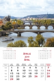 Calendare de perete 31.5 x 48 cm Bridges