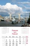 Calendare de perete 31.5 x 48 cm Europa