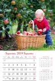 Calendare de perete 31.5 x 48 cm Kids
