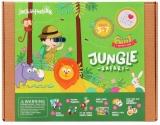 Kit Creatie 6-In-1 Safari In Jungla Jack In The Box