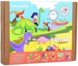 Kit Creatie 6-In-1 Dinozaurii Jack In The Box
