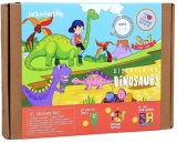 Kit Creatie 3-In-1 Dinozaurii Jack In The Box