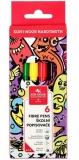 Carioci Teenage 6 culori/set Koh-I-Noor