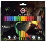 Carioci 18 culori Dino Koh-I-Noor