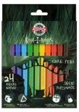 Carioci 24 culori Dino Koh-i-noor