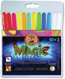 Carioci Magic 10+2 culori/set Koh-I-Noor
