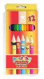 Creioane colorate Centi 12 buc/set Koh-I-Noor
