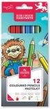 Creioane colorate Leu 18 culori/set Koh-I-Noor