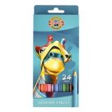 Creioane colorate 24 culori Girafa Koh-I-Noor
