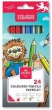 Creioane colorate Leu 24 culori/set Koh-I-Noor