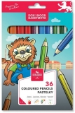 Creioane colorate Leu 36 culori/set Koh-I-Noor