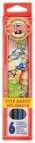 Creioane colorate 6 culori monstrii spatiali Koh-I-Noor