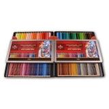 Creioane colorate Polycolor, cutie metal, 144 culori/set Koh-I-Noor