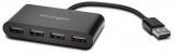 Hub cu 4 porturi USB 2.0 Kensington