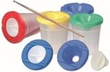 Pahar plastic pentru pictura cu suport pensule Koh-I-Noor